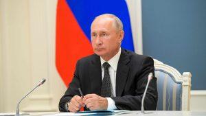 Thumbnail voor Vladimir Poetin blijft president van Rusland tot 2036