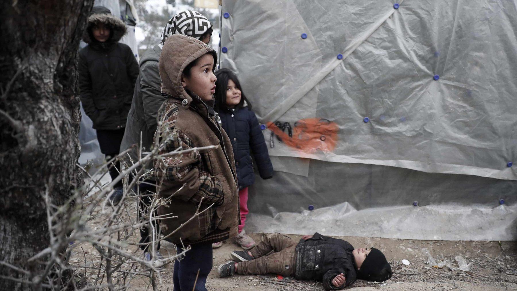 vluchteling kind griekenland