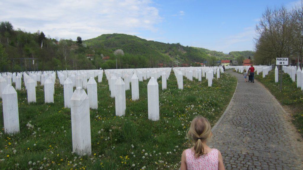 Liesbeth militair Srebrenica