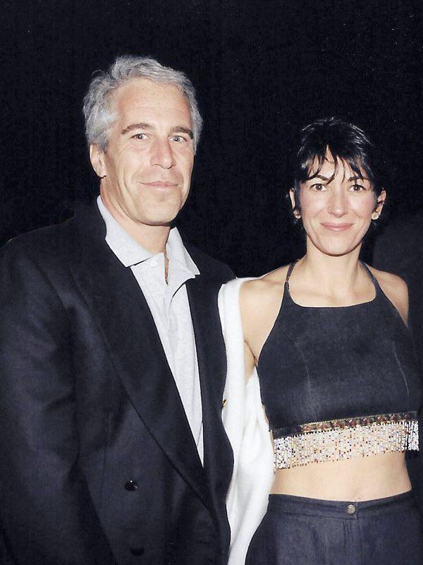 Ghislaine Maxwell en Jeffrey Epstein