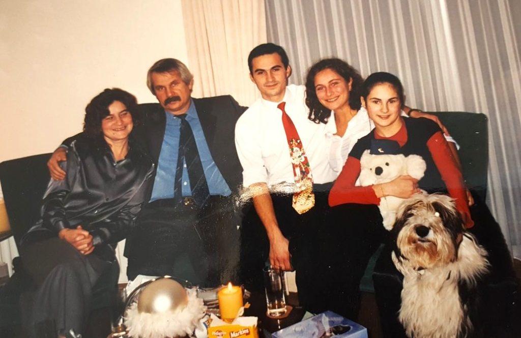 Jasmina en haar gezin uit Srebrenica