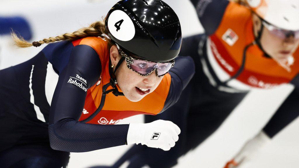 shorttracker Lara van Ruijven