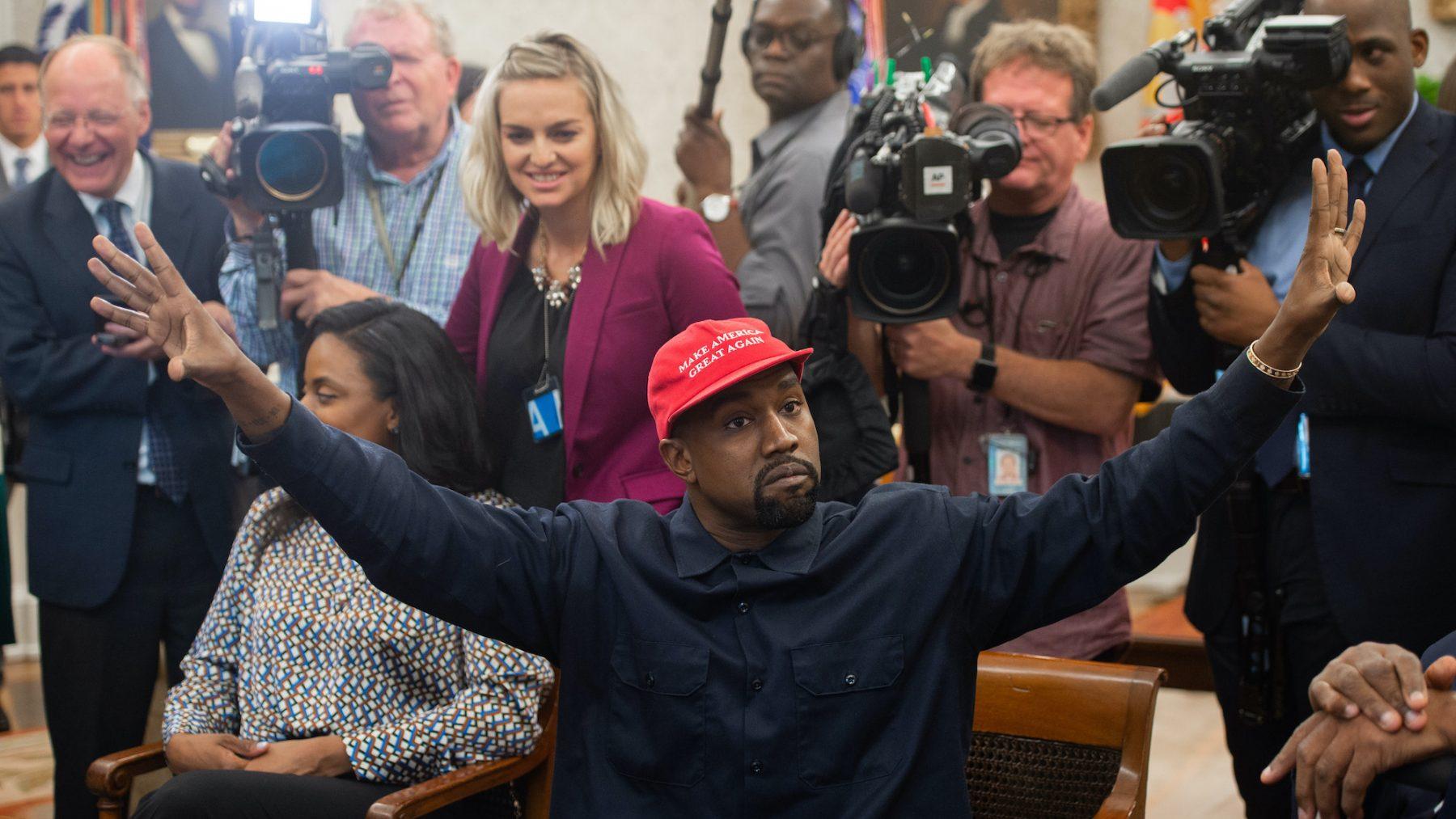 kanye west president vs trump