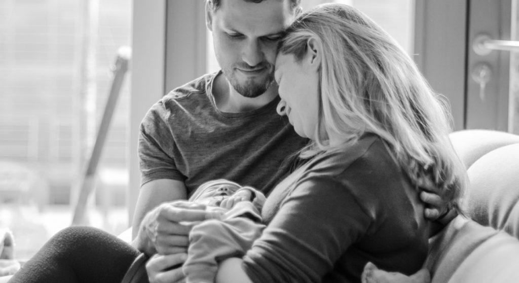 Emily herdenkt haar stil geboren dochter