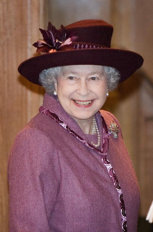 Koningin Elizabeth in 2007