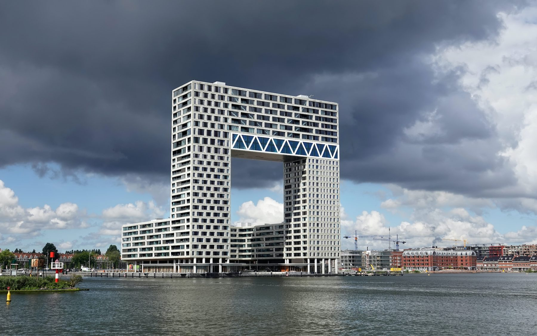 pontsteiger amsterdam penthouse