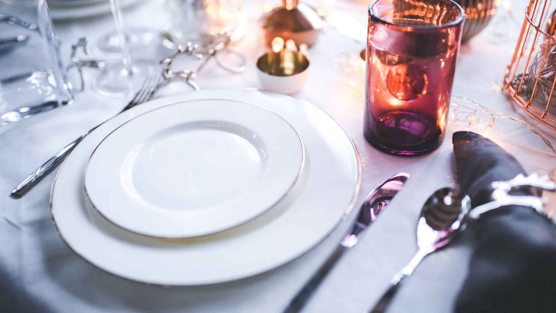 eten diner bord