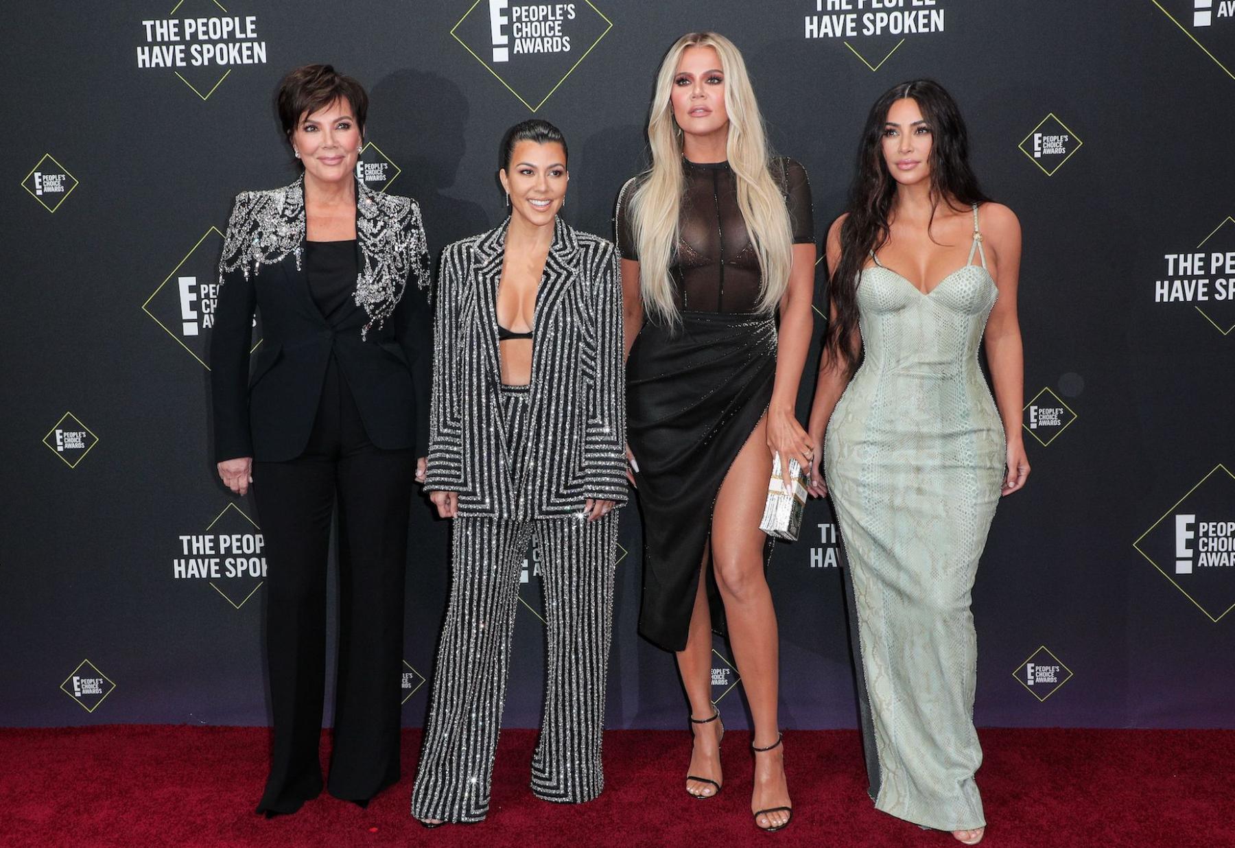kim khloe kourtney kardashian kris familie beroemd