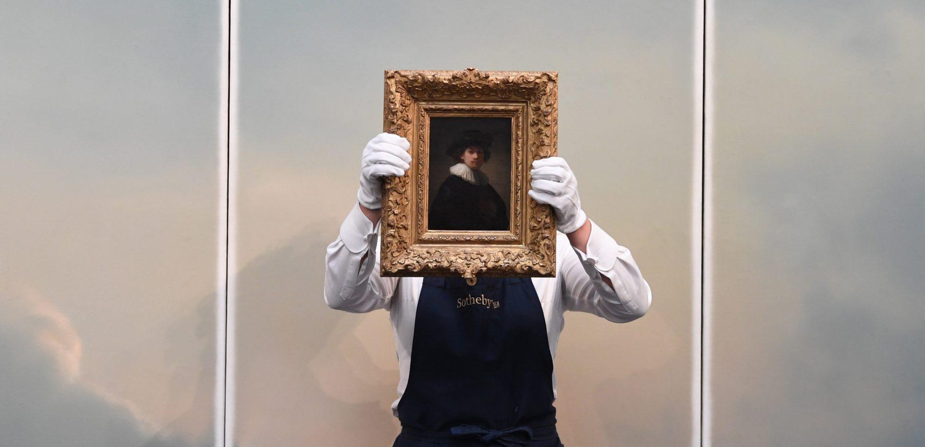 Rembrandt geveild bij Sotheby's