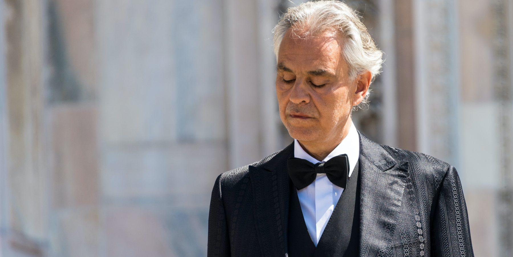 Andrea Bocelli onder vuur na kritiek op coronamaatregelen