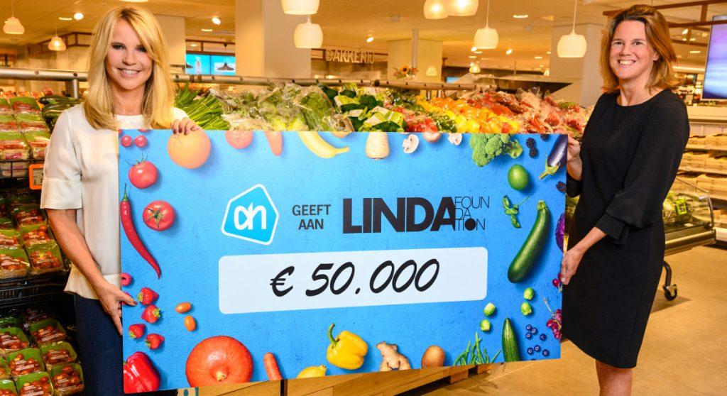 Albert Heijn geeft 1.000 LINDA.foundation gezinnen steuntje in de rug met boodschappenkaart LINDA.foundation