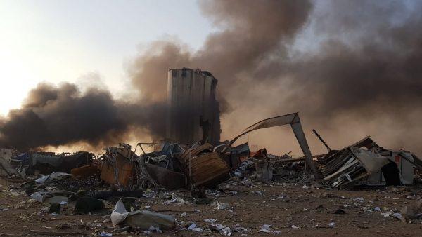 Libanese hoofdstad Beiroet opgeschrikt door vernietigende explosie