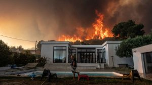 Franse campings bij Marseille ontruimd door felle brand