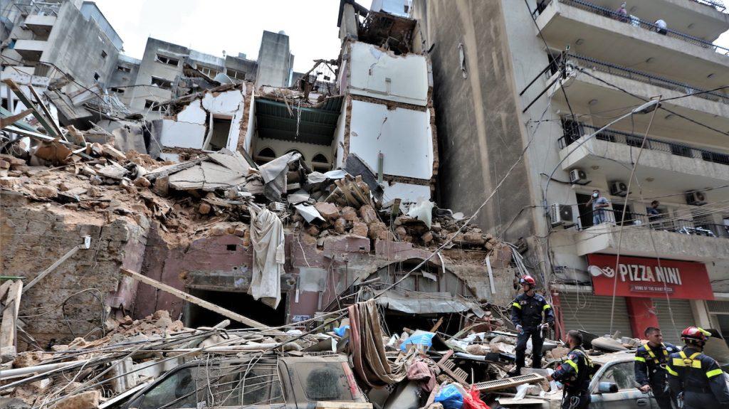 Arrestaties explosie Beiroet