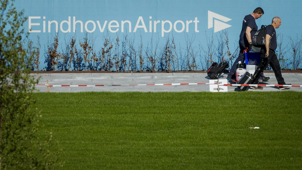 Eindhoven Airport vertraging ANP