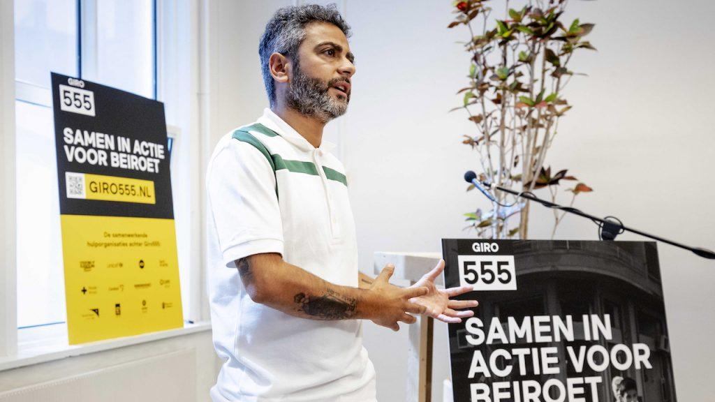 Giro555 doneeractie slachtoffers Beiroet Danny Ghosen