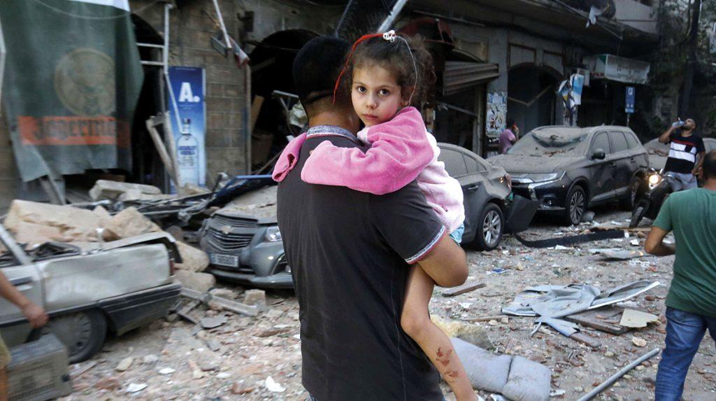 Interview adjunct-directeur UNICEF Violet Speek vanuit Beiroet