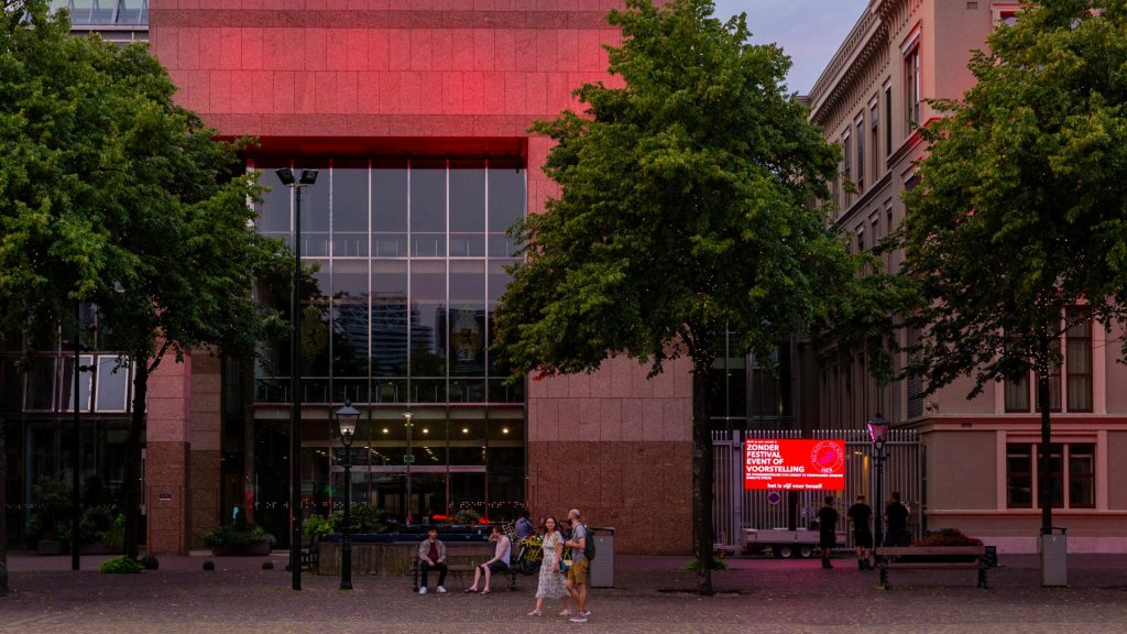 Paradiso, Tivoli en Concertgebouw: deze gebouwen kleuren rood door actie culturele sector