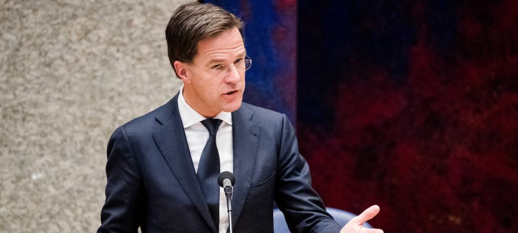 Rutte houdt toespraak tijdens 75-jarige herdenking bevrijding van Indië
