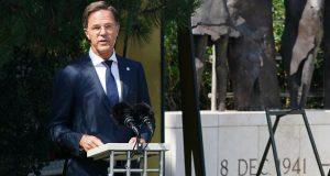 Premier Rutte vertelt tijdens Indië-herdenking over gevangenschap vader