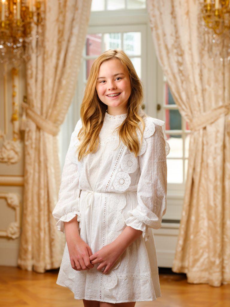 Den Haag, juli 2020: Prinses Ariane in Paleis Noordeinde.