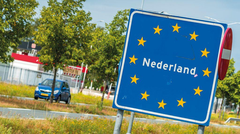 Anderhalve meter naar het zuiden- grens Nederland en België lag verkeerd