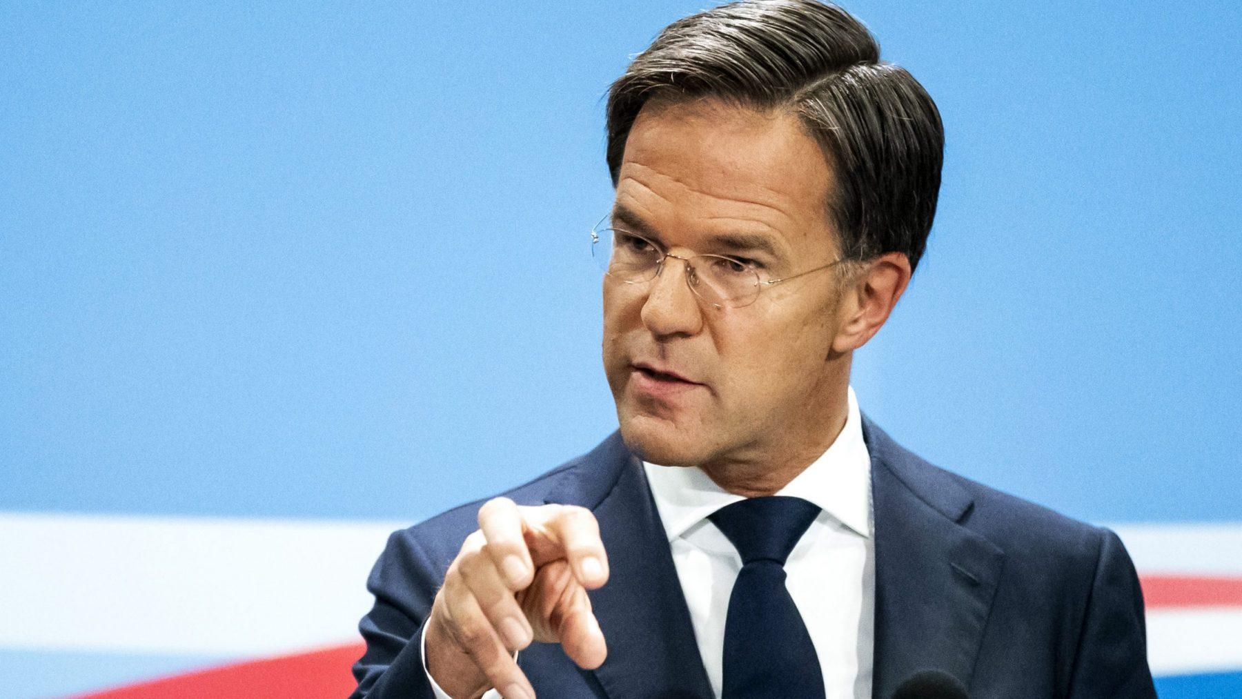 Premier Rutte in gesprek met 'Kick Out Zwarte Piet'