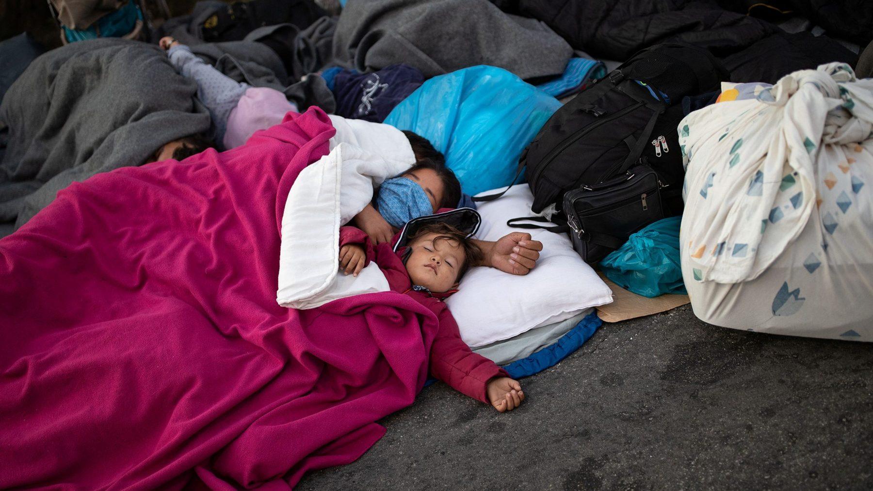 CDA-leden roepen op vluchtelingen van Lesbos op te vangen
