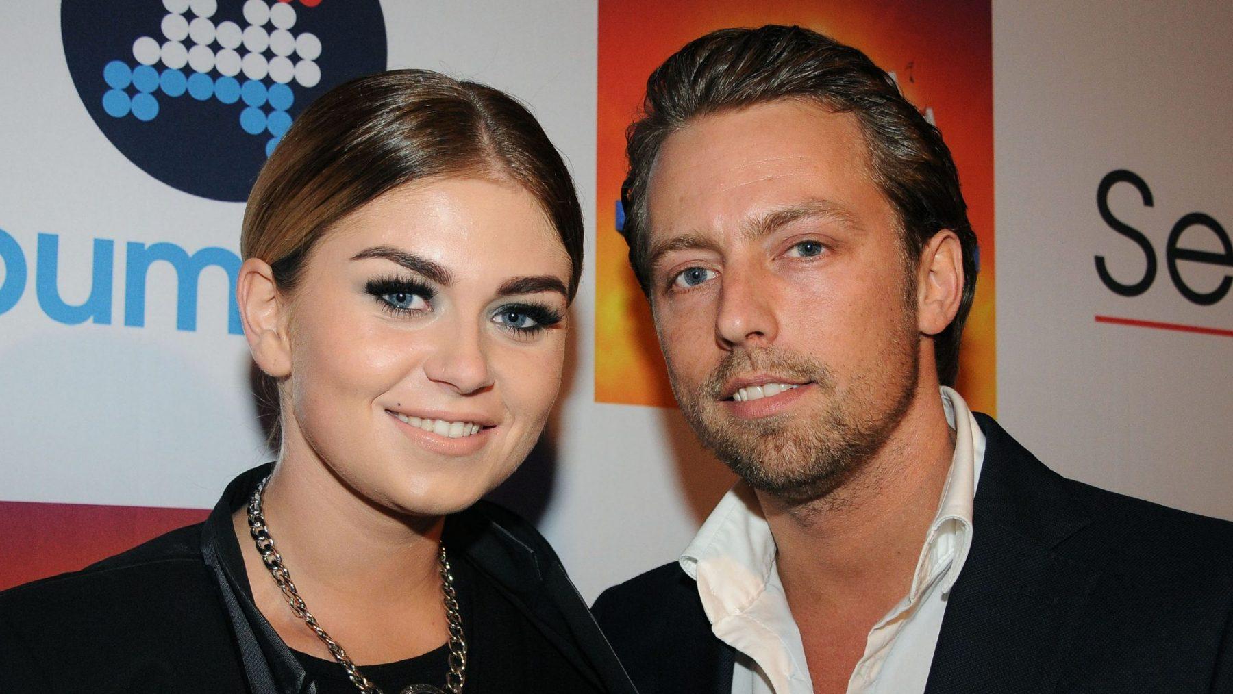 Roxeanne met ex Nick van Delft
