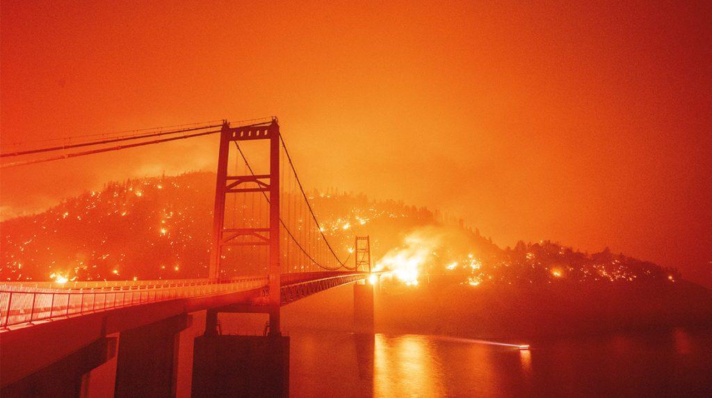 Westen van Verenigde Staten geteisterd door bosbranden