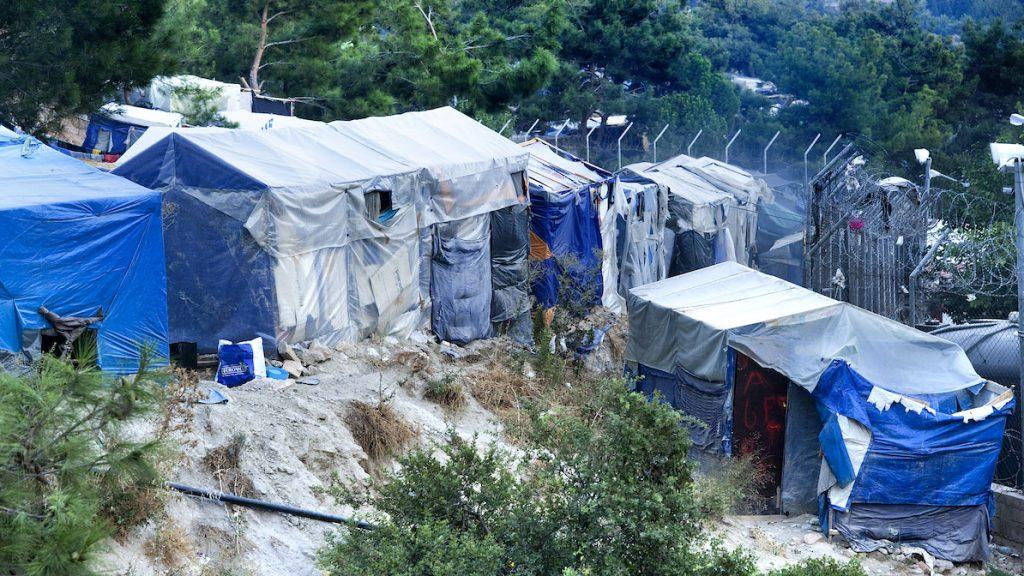Brand bij vluchtelingenkamp op Grieks eiland Samos