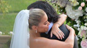 Waarom de kersverse man van Sylvie Meis zijn gezicht verbergt op de trouwfoto's