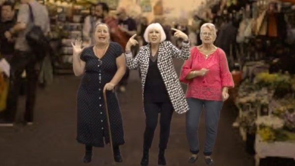 Groep strijdlustige oma's maakt lied tegen drillrap 'Het is onzinnig'