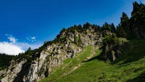 Vrouw val Duitsland bergen