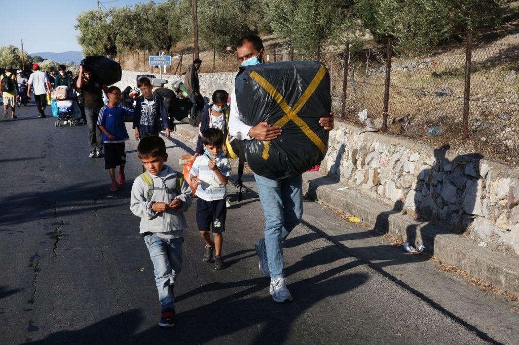 Eerste vijftig minderjarige vluchtelingen uit kamp Moria naar Duitsland