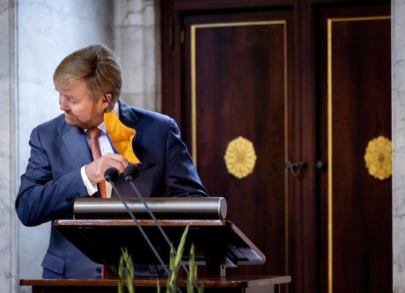 Mondkapje Willem-Alexander