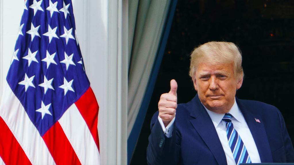 Twitter tikt Trump op de vingers, president misleidt met immuniteitsclaim corona