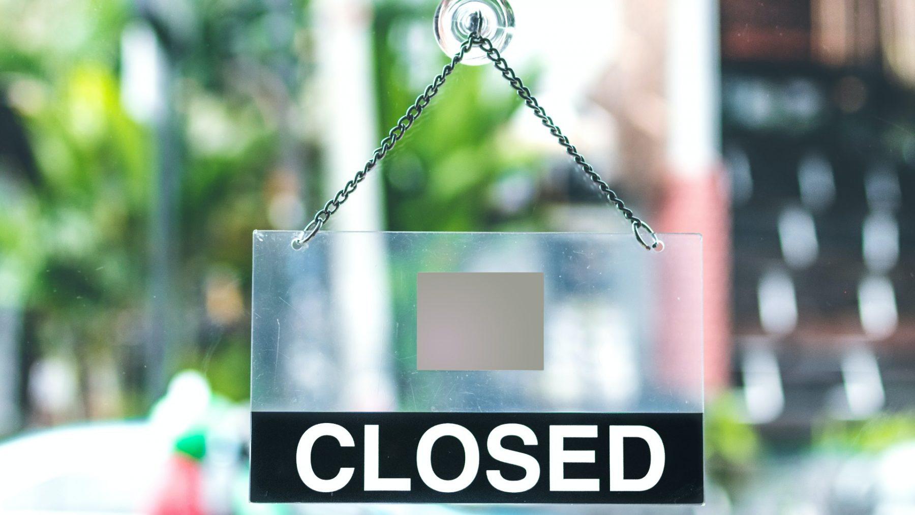 Horecaondernemers zijn boos en hebben hard hoofd in effect sluiting cafés en restaurants