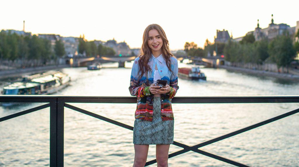 Parijzenaren geen fan van serie Emily in Paris