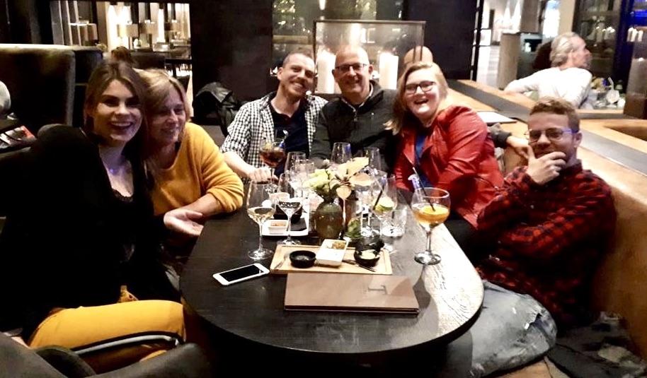 Familie Noreen en Alieke