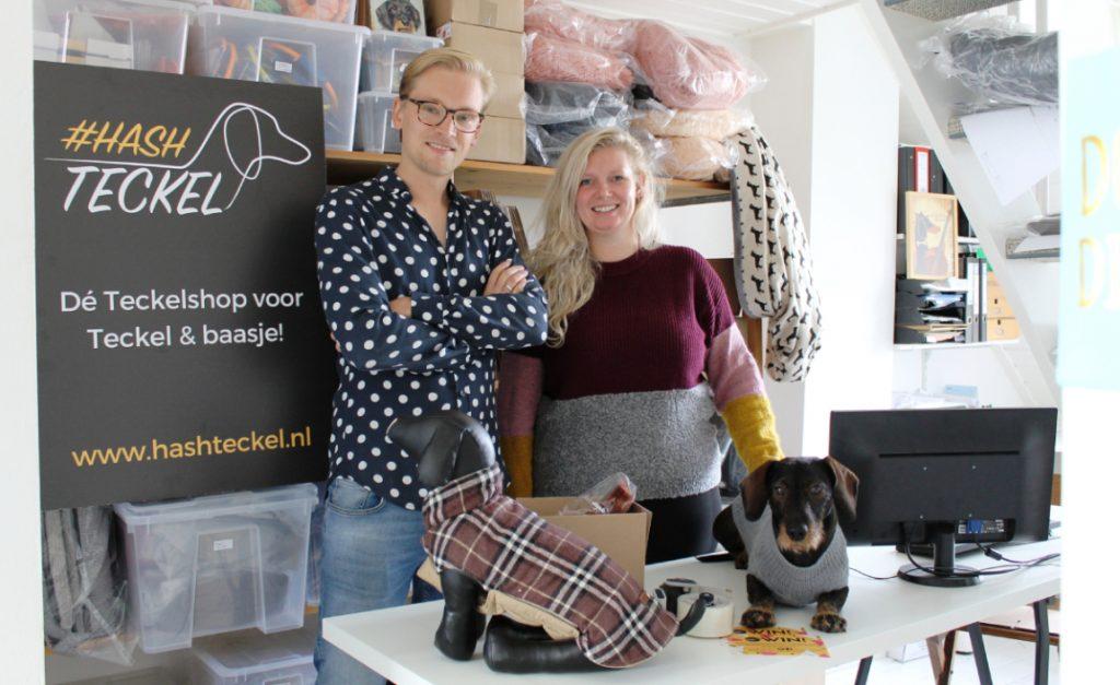 Van hashteckel naar de eerste teckelwinkel van Nederland: 'Een droom'