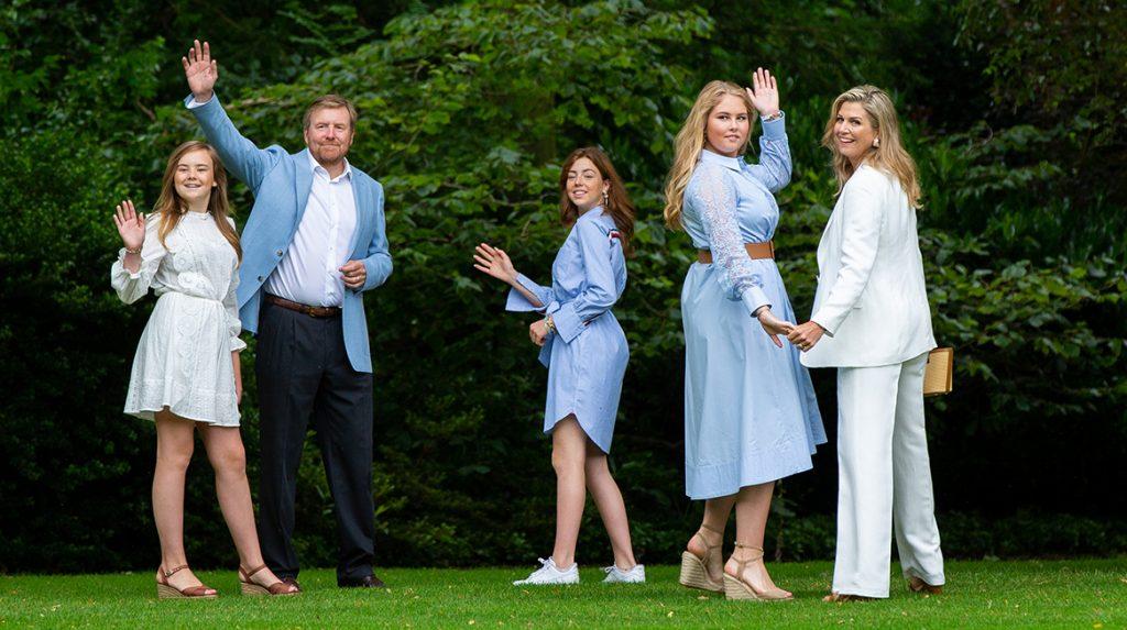 'Koninklijke familie op vakantie in Griekenland'_