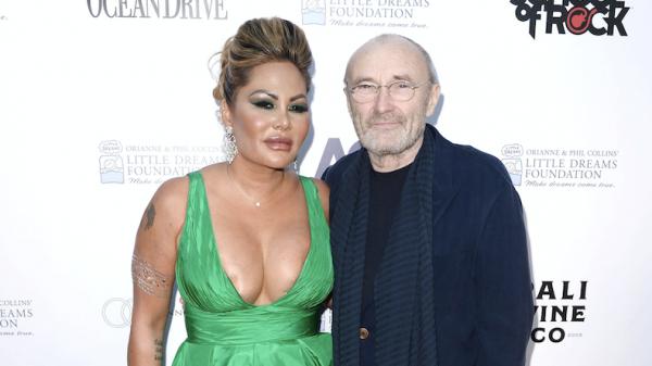 Phil Collins vrouw scheiding Orianne ANP
