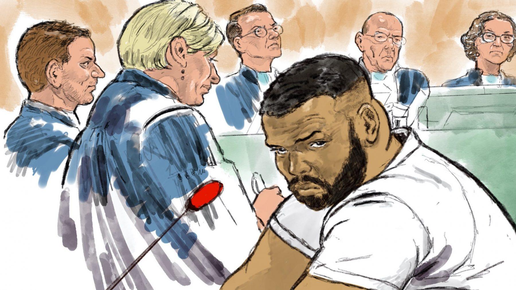 Twintig jaar cel en tbs met dwangverpleging voor moordenaar rapper Feis