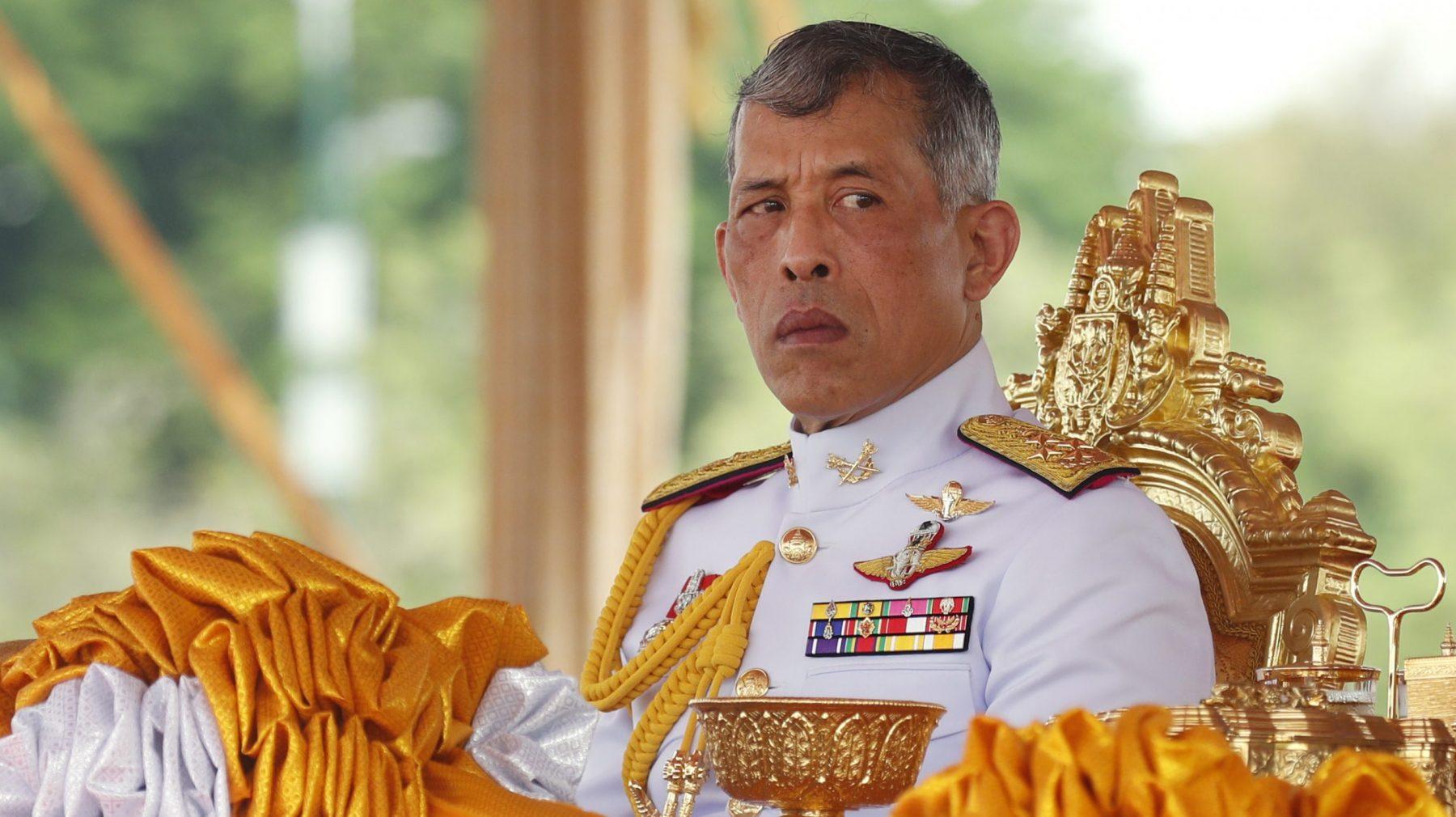 Thaise koning Vajiralongkorn