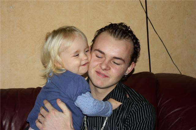 Tienervader - vader en dochter
