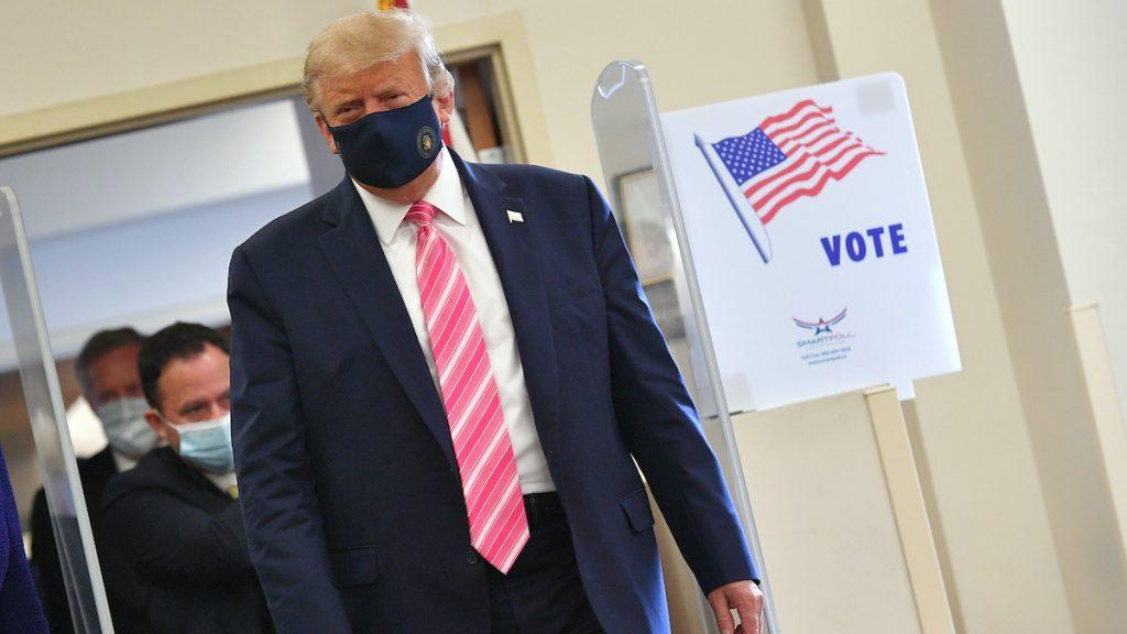 amerikanen stemmen trump
