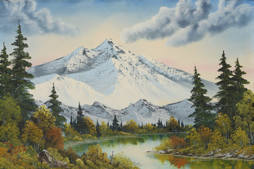 Bob Ross, Mountain Summit