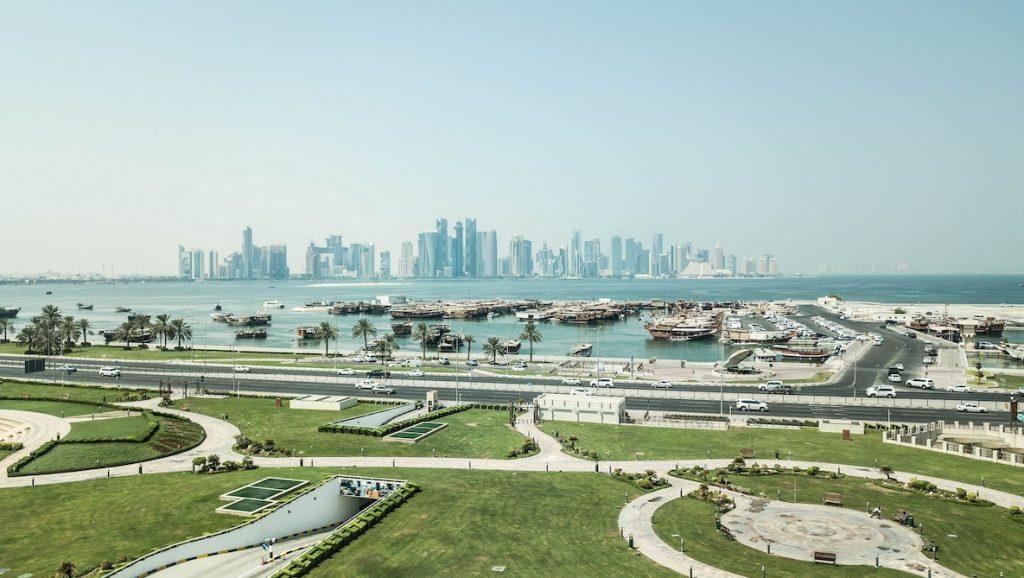 Inwendige onderzoeken op luchthaven Qatar