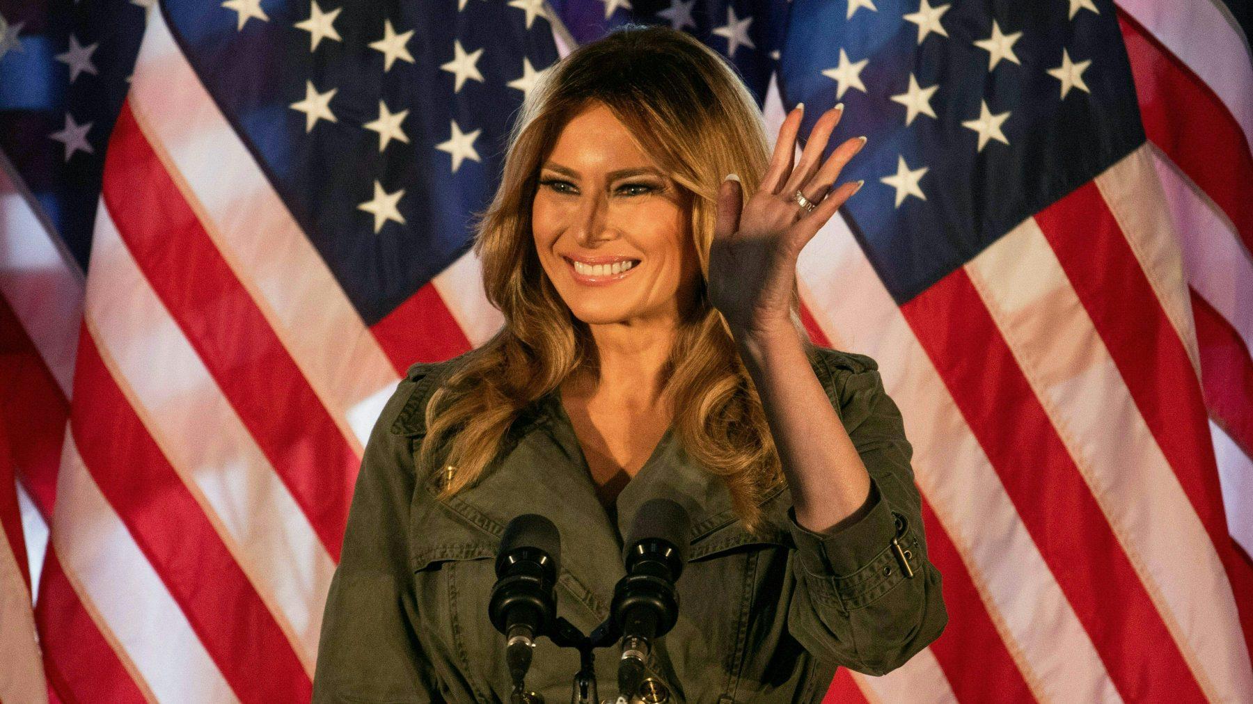 Melania Trump is het 'niet altijd eens met de manier waarop Donald dingen zegt'